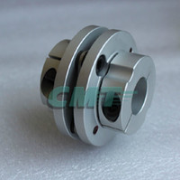Wholesale Stepper Motor Flexible Coupling Coupler - New Frame Model Aluminum alloys Single Diaphragm coupling Fit servo and stepper motor shaft-coupler D=68 L=54 D1&D2 at 15-25mm