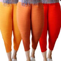 Wholesale Haren Pants Women - Fried Chicken Pants for Women Hot Sale Loose Fashion Elastic Haren Pants Japanese Style Yellow Orange Red Pants Plus S-4XL