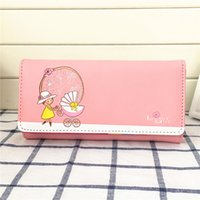 Wholesale Strollers European Style - Vintage graffiti doll stroller variety colors wallet women purse money package wallet free shipping and Low price