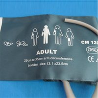 Wholesale Reusable Cuffs - Adult Sec Bladder Blood Pressure NIBP Cuff Single Tube 25-35cm Reusable Non-woven TPU One Month Guarantee for Replacement CMD0155A