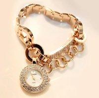 водонепроницаемые часы оптовых-Женщины роскошные мода благородный милый бизнес цветок керамические часы женщины водонепроницаемый мода браслет Кристалл Алмаз часы