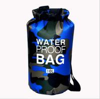 Wholesale Dry Bags For Kayaking - Waterproof Bag Storage Dry Bag IPX7 PVC waterproof bag for backpackfor Kayaking Beach Rafting Boating Hiking Camping Fishing
