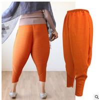 Wholesale cotton linen trousers women - Oversized haroon pants baggy pants with panties women trousers Harem women pants linen leggings Hip Hop