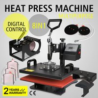 8IN1 HEAT PRESS TRANSFER MULTIFUNKTIONS T-SHIRT SUBLIMATION DIGITAL TIMER DRUCKMASCHINE 15