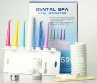 Wholesale Dental Portable Units - Free shipping Dental water floss oral irrigator dental SPA unit teeth cleaner dental water jet home SPA portable oral irrigator