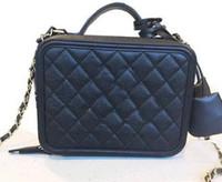 Wholesale Womens Blue Wallet - Fashion New womens Casual fashion luxury Brand handbags caviar high quality Leather PU shoulder bags totes burse Flap chain bags Wallets