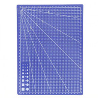 Wholesale Projects Sewing - 30*22cm Blue Professional Durable Non-Slip PVC Cutting Mat - Great for Scrapbooking, Quilting, Sewing and all Arts & Crafts Projects