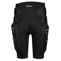 pantalones de carreras de motocross al por mayor-HEROBIKER Overland motocicleta armadura pantalones pierna culo motocross protección montar equipo de carreras engranaje protector de motocross