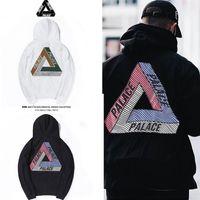 Wholesale Men S Hats Fashion - dongguan 2018 Autumn Winter Hoodie Palace Printing Plus Velvet Hats Men and Women Lovers Clothing Wweater Coats Hoodies and Sweatshirts