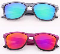 Wholesale Wholesale Eye Glass Accessories - New Travel Accessories Coating Sunglass Driving Sunglasses Men Women Brand Designer Gafas Sports Oculos Cycling Sun Glasses 821811
