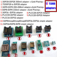 Wholesale Usb Gal Programmer - VS4800 USB High Speed Universal Programmer GAL EPROM FLASH 51 AVR PIC MCU SPI with 48pin ZIF socket,support 15000+, +12 adapters