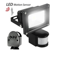 Wholesale Led Motion Sensor Light Infrared - 10W 20W 30W 50W 100W PIR Infrared Motion Sensor led floodlight 110-265V waterproof IP65 parki led for Garden spotlight outdoor lights