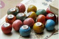 Wholesale Porcelain Materials - 2017 Loose Beads DIY Handmade Wholesale Fashion Accessories Costume Jewelry Stores Ceramic Jewelry Materials 12mm 500pce Mix Color