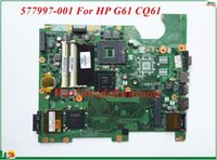 Wholesale Motherboard G61 - Wholesale And High Quality Motherboard 577997-001 For HP G61 CQ61 Laptop Motherboard DA00P6MB6D0 PGA478 DDR2 100% Tested