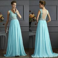 Wholesale Sequins Embroidered Evening Dress - Sexy Lace Party Dress Clubwear Women Sleeveless Long dress Lace Evening Prom Dress Sexy Long Elegant Plus Size See Through Sheer sleeveless
