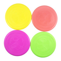 Wholesale Flying J - Fantastic Pet Dog Flying Disc Tooth Resistant Training Toy Play Frisbee Tide Dogs Training Tool Silicone Frisbee 1 3jy J
