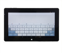 Wholesale Intel Wholesale China - 10.6inch Cube i10 Andorid  Dual Boot Tablet PC P+G Screen Intel Quad Core 2GB 32GB 1366*768px OTG HDMI WiFi