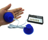 Wholesale Slimming Massager Sex - Shock Therapy Slimming Nipples Clitoris Body Massager Electro Sex Kit E-Stimulation Breast Sucker Sex Toys