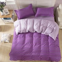 Wholesale Blue Wizard Cartoon - Wholesale-Home Cotton Bedding Set Bed Sets Color Cartoon-style Animation Wizard 4PCS Bed Sheet Duvet Cover