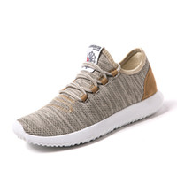 Wholesale Breathable Water - New Men Casual Shoes Summer Breathable Mesh Shoes Lightweight Men Flats Fashion Casual Water Brand Designer Male Shoes