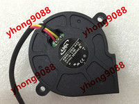 Wholesale Dc Cooling Blower Fan 12v - Free Shipping For ADDA AB5012DX-A03, (A) DC 12V 0.15A 3-wire 3-pin connector 70mm Server Blower Cooling fan