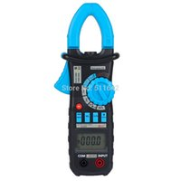 Wholesale Digital Hz Frequency Meter - Wholesale-New ACM03 Auto Range Digital Clamp Meter Multimeter AC DC Current Voltage Hz Frequency Capacitance Tester VS MS2108A