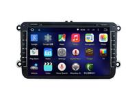 Wholesale Vw Polo Dvd - 8'' Quad Core Android 5.1.1 Car DVD Player For VW GOLF(MK6)2009-2011 GOLF(MK5)2003-2009 POLO(MK5)2010-2010 PASSAT 2010-2011
