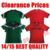 Wholesale V Cups - Clearance Prices 2014 Wrold Cup Mexico Home Away Soccer Jersey CHICHARITO G.DOS SANTOS M.LAYUN CARLOS V A.GUARDADO Soccer Jerseys