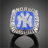 Wholesale Vintage Mlb Baseballs - Wholesale-MLB 1996 New York Yankees Championship Rings Baseball World Champion Rings Vintage Men Jewelry Fine Classic Collection Jewelry