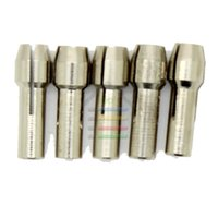 Wholesale Wholesale Rotary Tool Bits - New 5pcs Durable Collet Bit Grinder Grinding Drill Chuck Adapter 5 Size For Dremel Rotary tools order<$18no track