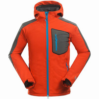 Wholesale Blue Compound - Wholesale-Brand Compound soft shell jacket men Outdoor sports leisure sports Mountain climbing hiking Waterproof windproof men jacket