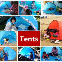Wholesale 6 person tent resale online - Ship Days Summer Hiking Tents Outdoors Camping Shelters for People UV Protection Tent for Beach Travel Lawn Family Party