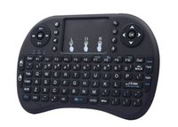 color keyboard android بالجملة-HOT Perfect Portable Specific Wireless i8 keyboard Touchpad للكمبيوتر الشخصي Android TV X-BOX COLOR: أسود / أبيض