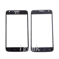Wholesale Galaxy Skyrocket Ii - 30PCS Front Outer Touch Screen Glass Replacement for cell phone Samsung Galaxy S2 II Skyrocket i727 AT&T free DHL