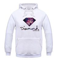 Wholesale Color Diamond Loose - 2016 Fleece Casual Unisex Hoodies Sweatshirt Diamond Supply Sport Hip-hop Pullover Hooded Sweatshirts Mens Sportwear Coat Jogger For man