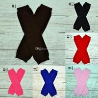 Wholesale children stockings leggings resale online - Christmas Cotton Baby Leg Warmer Leggings socks infant Knee Pads Kids Leg Stocking colors Children socks C3182