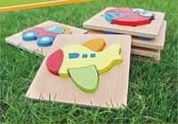 Baby Learning Puzzles Jogos 3D Wooden Puzzles Brinquedos Educativos Kids Wood Craft Animals Jigsaw Puzzle Toy Gifts