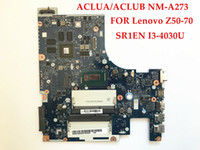 Wholesale Top Laptop Motherboards - Top quality laptop motherboard for Lenovo Z50-70 ACLUA ACLUB NM-A273 I3-4030U DDR3L 100% Fully tested