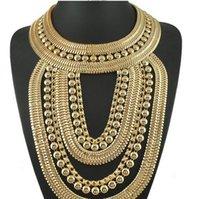 много бисера ожерелья оптовых-Lastest ожерелья из бисера подвески тенденция кисточкой модные аксессуары цепи высокого класса широкий мульти кисточкой большое ожерелье рождественский подарок