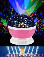 Star spinning night light - Romantic Rotating Spin Night Light Projector Children Kids Baby Sleep Lighting Sky Star Master USB Lamp Led Projection MYY