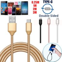 Wholesale Pro Data - Rapidly Braided Type C 3.1 Data Sync Charger Cable For Huawei P9 P10 Plus Mate9 Pro DH1700057