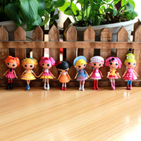 Wholesale Wholesale Lalaloopsy Mini Dolls - 8pcs Lot Mini Lalaloopsy Dolls, Cherie Prim Fashion Dolls & Dress Up Games for Girls best gift