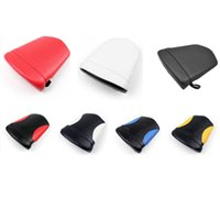 Wholesale R1 Rear Seat - 7 Color Brand New Rear Passenger Seat Pillion Leather Pad Cushion For Yamaha YZF R1 2000-2001