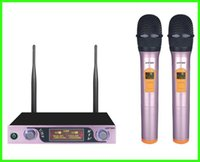 Wholesale Hand Held Mic - Rhinos Home Audio 2 Channel Wireless Hand Held Microphone Mic System P160aLSNew