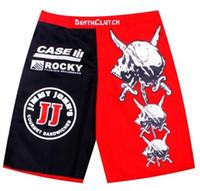 Wholesale Death Clutch - Wholesale-2015 New Listing Death Clutch Brock Lesnar MMA. Fitness Sanda fighting Muay Thai pants boxer shorts Size M-XXXL