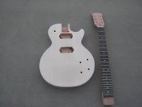 Cheap raw wood no paintting guitar Best Solid New electric guitar