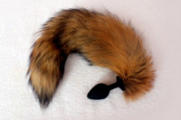 Wholesale Toy Sexy Gays - Sexy Brown Fox Tail Anal Plug Sex Toys , Silicone Butt Plug Role Play Sex Products For Men Woman Gay