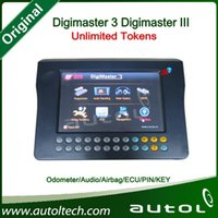 Wholesale Odometer Resetting - Wholesale-2016 Hot Original DigiMaster III Digimaster 3 Odometer Correction,Key Programmer,Immobilizer,Airbag Reset Tool Update Online