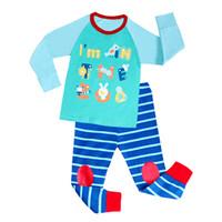 Wholesale Children Sleepwear Nightwear Pyjamas - 2017 Children Cute Cartoon Baby Kids Girls Nightwear Pajamas Pyjamas Sleepwear Suit