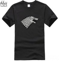 Game of Thrones Direwolf T-shirt Casa Stark Winterfell Cotone Uomo T-shirt Uomo è in arrivo Casual Streetwear T-shirt Crossfit